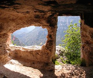pantalica - abitazione rupestre