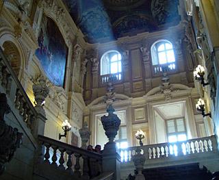 palazzo reale - scalone monumentale