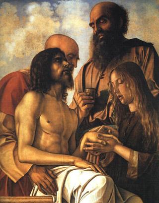 giovanni bellini - compianto sul cristo morto