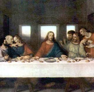 il cenacolo - particolare