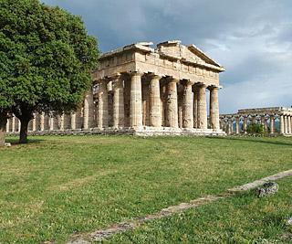 paestum - tempio di poseidone