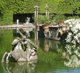 giardino di boboli - vasca dell'isola